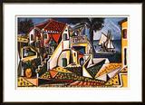 Mediterranean Landscape Prints by Pablo Picasso
