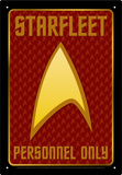 Star Trek - Starfleet Personnel Tin Sign Tin Sign