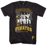 KISS - Pittsburgh Pirates Dressed to Kill Tshirts