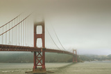 Golden Gate Bridge in the Mist Photographic Print by Design Pics / APlights