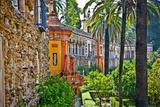 Real Alcazar Gardens in Seville, Andalusia, Spain Poster by Aleksandar Todorovic