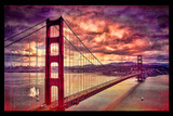 Golden Gate Bridge Photographic Print by Serge Klimov