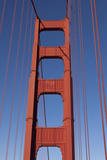 Golden Gate Bridge Tower Photographic Print by Garry Gay