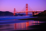Golden Gate Bridge Dusk Photographic Print by Ian Philip Miller