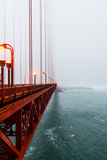 Golden Gate Bride Photographic Print by Max Cheung