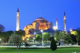 Hagia Sophia Photographic Print by Massimo Borchi