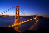 Golden Gate Bridge Photographic Print by photo by Leighton Wallis