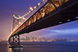 San Francisco Bay Bridge Photographic Print by Photo by Mike Shaw