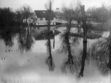 Winter Flood Photographic Print by A. R. Coster