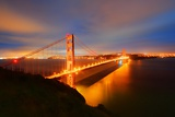 Golden Gate Bridge Photographic Print by Photography by Steve Kelley aka mudpig