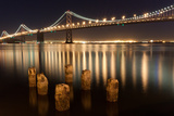 Bay Bridge Reflections Photographic Print by Connie Spinardi
