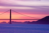Golden Gate Bridge at Sunset Photographic Print by Jeremy Duguid Photography