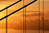 The Golden Gate to San Francisco Photographic Print by Sandra Kreuzinger