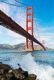 Golden Gate Bridge Photographic Print by David Papazian