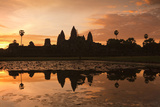 Angkor Wat Temple Complex Photographic Print by Huw Jones