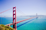 Golden Gate Bridge Photographic Print by  shaowan