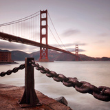 Vintage Golden Gate Photographic Print by Philippe Sainte-Laudy Photography