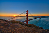 Golden Gate Bridge Sunrise Photographic Print by Mark Whitt Photography
