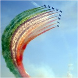 Frecce Tricolori Photographic Print by Carmen Privitera