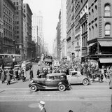 New York Street Scene Photographic Print by Hulton Archive