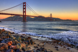 Golden Gate by Shore Photographic Print by Michael Lawenko Dela Paz