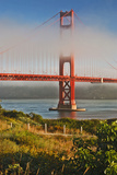 Fog at Golden Gate Bridge Photographic Print by Jack Booth Photography