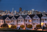 Painted Ladies from Alamo Square Photographic Print by  fuminana