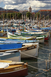 Fishing Boats in Port Photographic Print by Richard Taylor