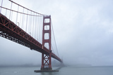 Golden Gate Bridge in Clouds Photographic Print by Robert Houser