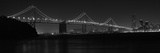 Bay Bridge at Night Photographic Print by  Cheese