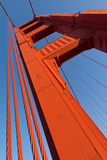 A Bridge Pier of the Golden Gate Bridge Photographic Print by Siegfried Layda