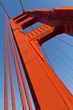 A Bridge Pier of the Golden Gate Bridge Photographic Print by Siegfried Layda