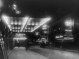 Broadway by Night Photographic Print by Edwin Levick