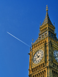Jest Flying past Big Ben, London, UK Photographic Print by Doug Armand