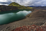 Lake in the Volcano, in Central Iceland Photographic Print by Gavriel Jecan