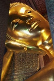 Reclining Buddha at Wat Pho Temple Photographic Print by Richard Taylor