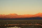 Sunset in the Desert - Atacama - Chile Photographic Print by Lelia Valduga