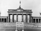 Brandenburg Gate Photographic Print by John Waterman