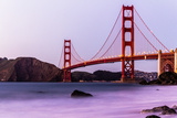 Golden Gate Bridge - View from Marshall Beach Photographic Print by (c) Swapan Jha