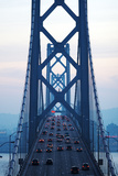 View of the San Francisco-Oakland Bay Bridge Photographic Print by Jonathan Percy