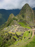 Classic View of Machu Picchu Photographic Print by Eduardo Bassotto
