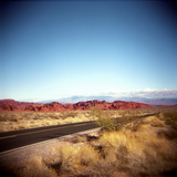 Entering the Valley of Fire Photographic Print by Lori Andrews