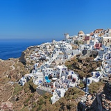 Santorini Island, Thera, Cyclades, Aegean Islands, Greece Photographic Print by Stefano Brozzi/SOPA RF