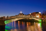 Half Penny Bridge by Night Photographic Print by Maurizio Rellini