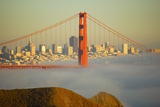Golden Bridge in San Francisco Photographic Print by  Jcbonassin