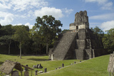 Maya Archaeological Area Photographic Print by Aldo Pavan