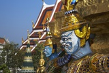Wat Phra Kaew in the Grand Palace Complex Photographic Print by Richard Taylor