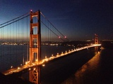 Golden Gate Bridge at Dawn Photographic Print by Photograph by Peter Guyan