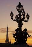 Alexander III Bridge, Pont Alexandre Iii, Paris, France Photographic Print by Bruno Morandi/SOPA RF