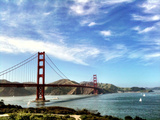 Golden Gate Bridge Photographic Print by Shyam Mani